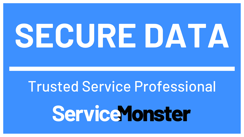 This service business uses secure business software to protect your identity.